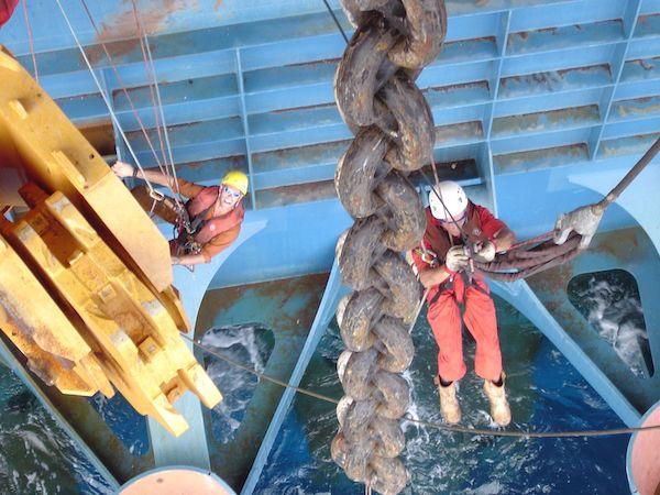 Rope access Petrolis crew